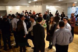 Crowd shot at GA event with NY senator Chuck Schumer