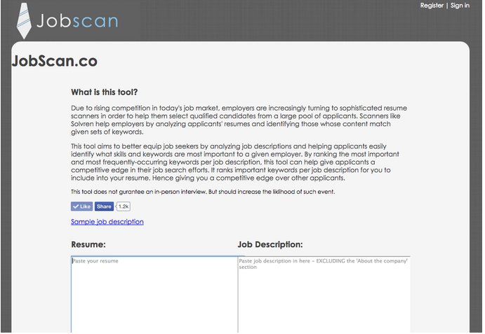 Jobscan at day 30