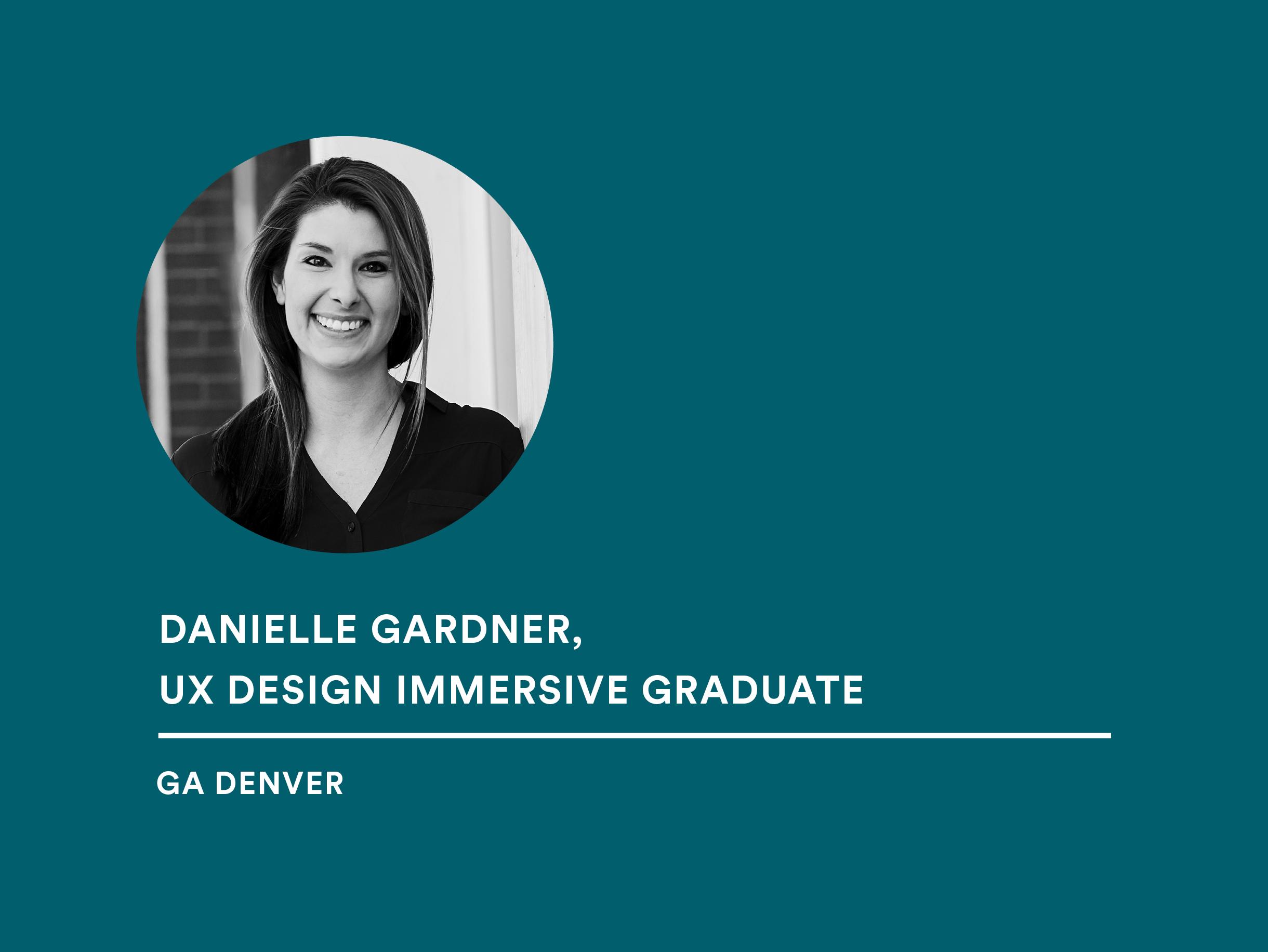 Student Danielle Gardner