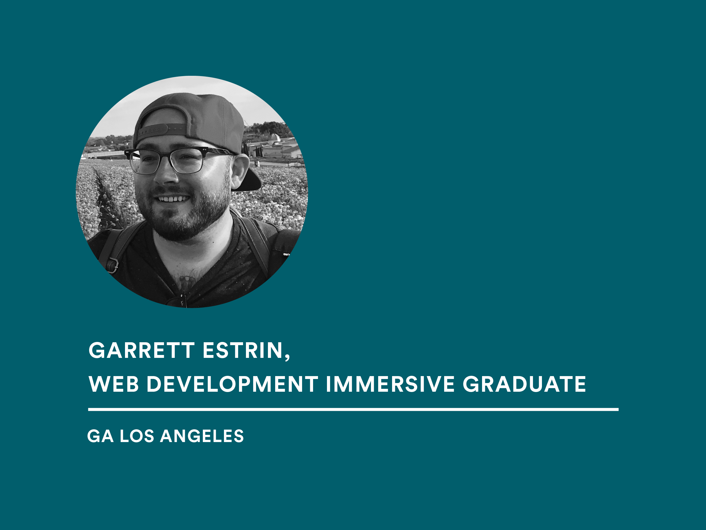 Student Garrett Estrin