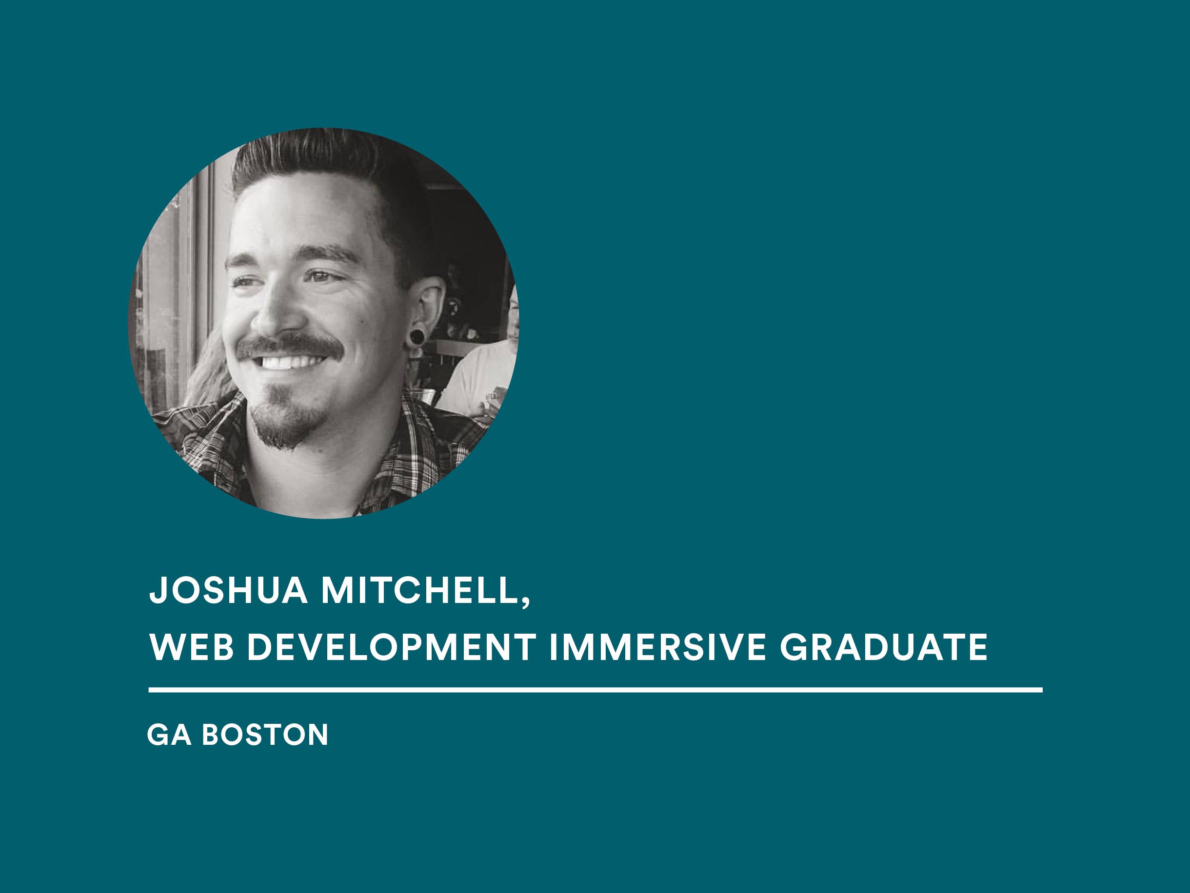 Student Joshua Mitchell